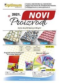 NOVI OPTIMUM PROIZVODI 2021